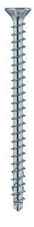 8.0mm x 330mm Countersunk KonstruX Wood Screws Fully Threaded Torx TX40 Zinc Galvanised Box of 50