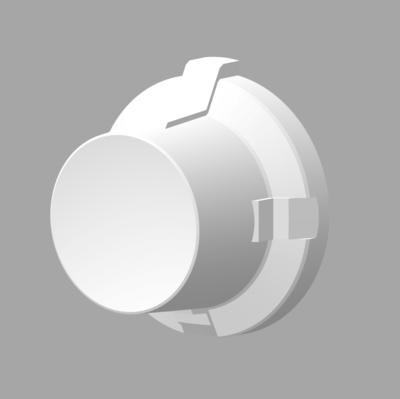 Dash Knob Set - Notch, 3 pcs