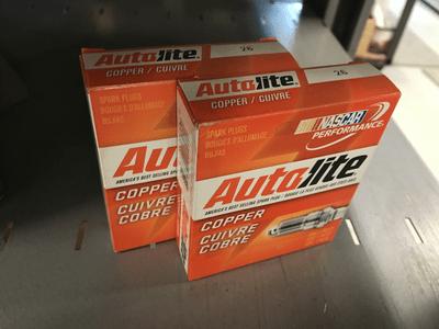 Autolite Copper spark plugs