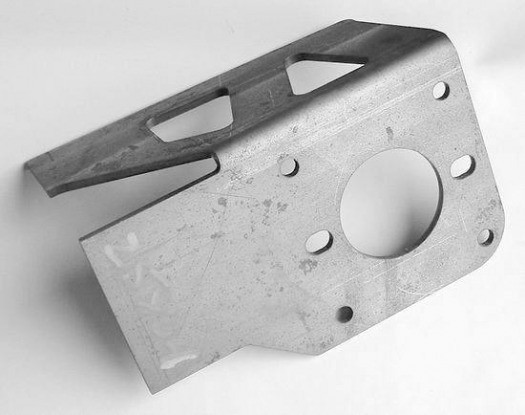 Formed Brake Booster Bracket, Long