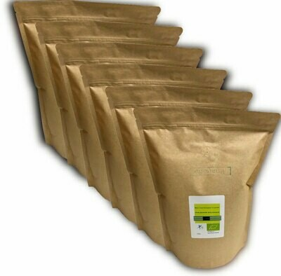 Blanc d'œuf bio poudre: 6 kg - Code 0