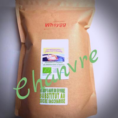 Wheygg chanvre: 1 Kg (sans sucre ajouté)