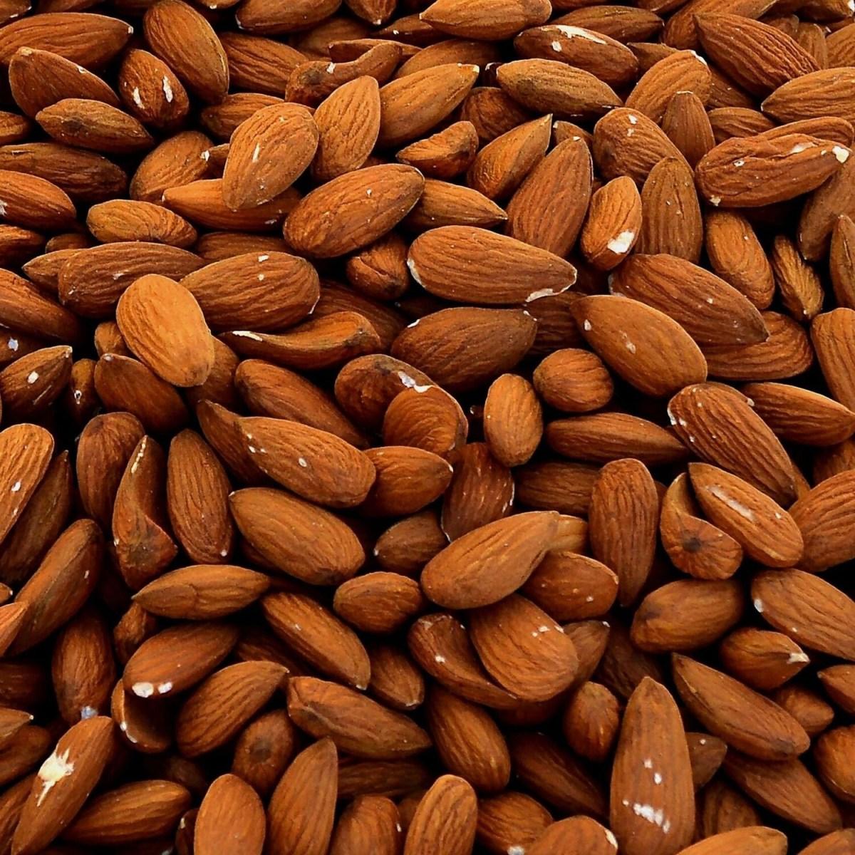 Amandes décortiquées toastées en 250 g (non salées)