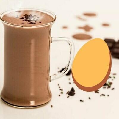 Blanc d'œuf au cacao