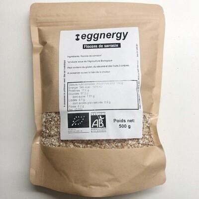 Flocons de sarrasin bio - 1 kg (ou 2 X 500g)