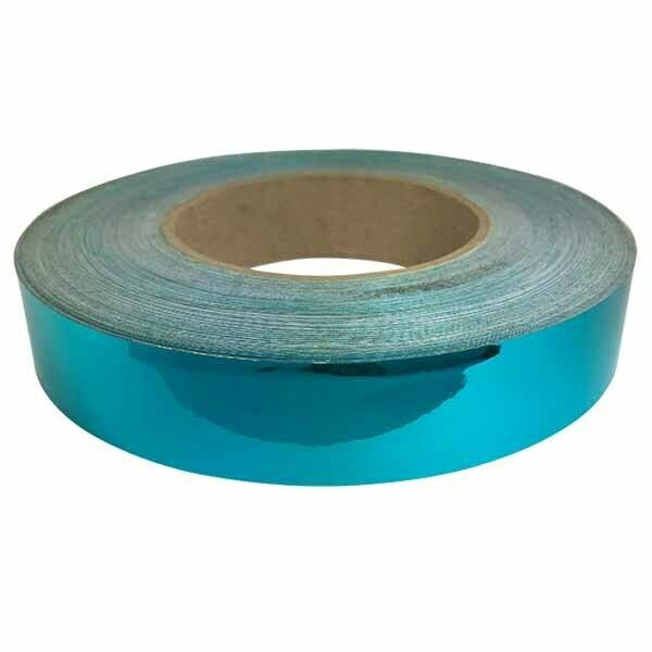 Mirror Tape, Aquamarine Blue (aka Teal)