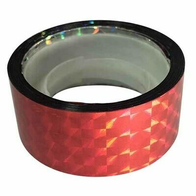 Budget Prismatic Tape, Lipstick Red