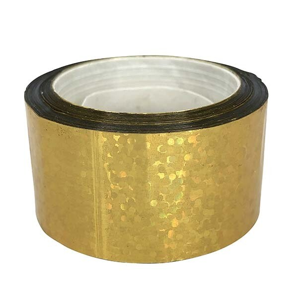Budget Metallic Gold Sequin Tape