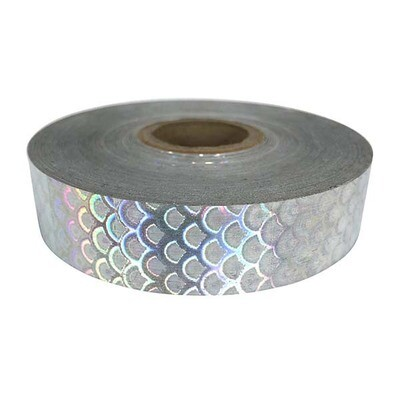 Economy Silver Mermaid Scales Tape
