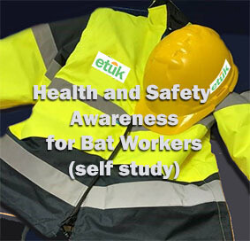 Bats: Health and Safety Awareness for Bat Workers Self Study Course
