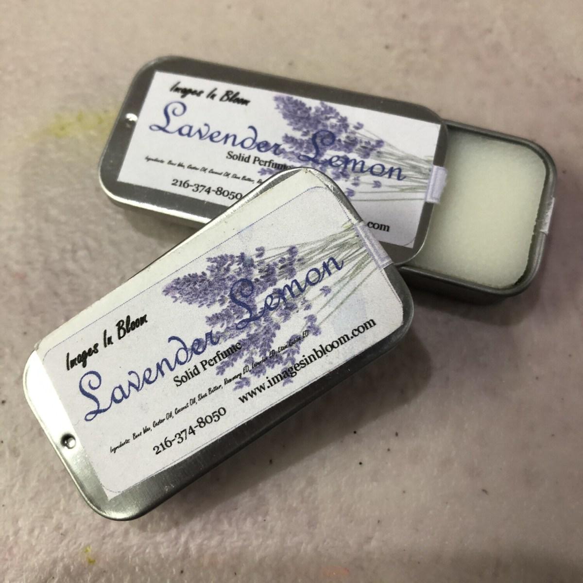 Lavender Lemon Solid Perfume