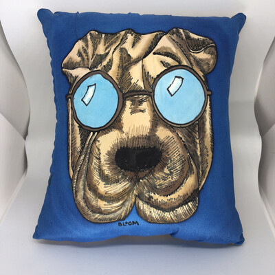 Hey Hey It's A Shar-Pei Accent Pillow