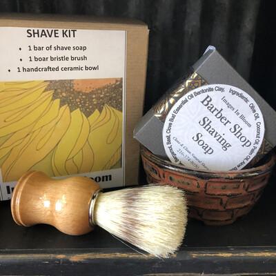 Barber Shop Shaving Kit