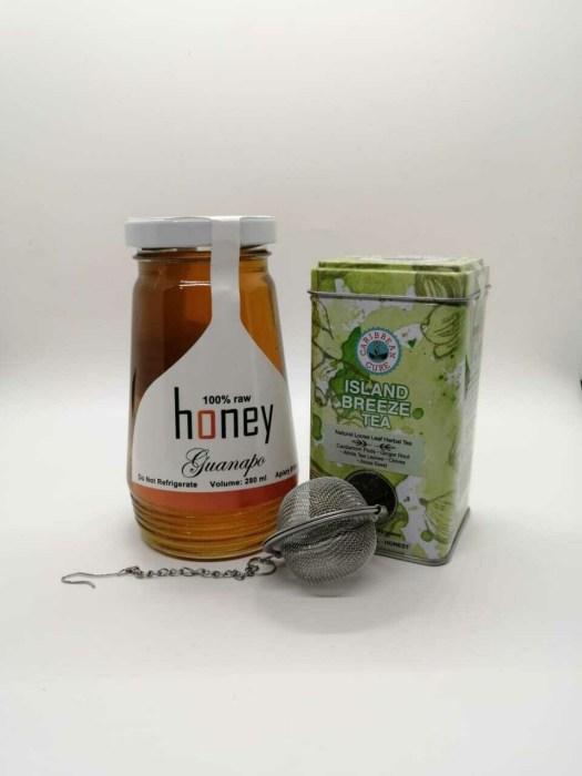 Island Breeze Tea and Honey Combo