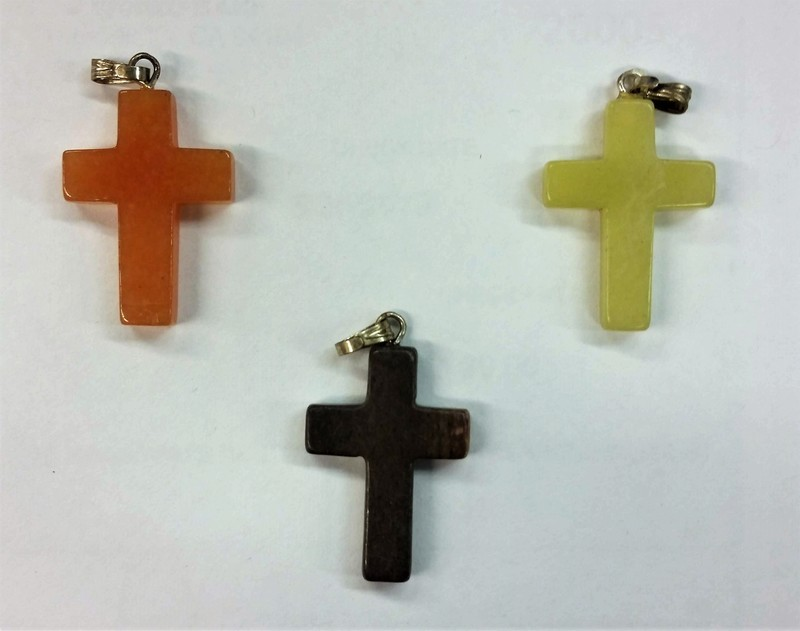 Small Stone Mission Field Cross
