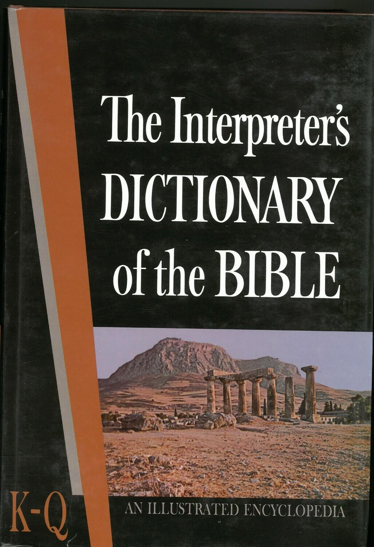 Interpreter's Dictionary of the Bible, Vol. 3 (K-Q)