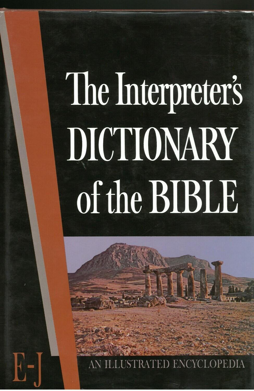 Interpreter's Dictionary of the Bible, Vol. 2 (E-J)