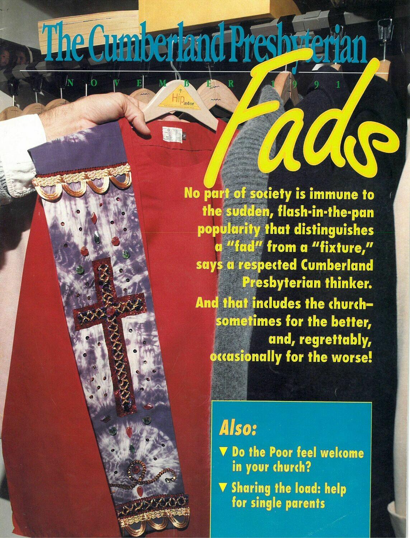 November 1991 Cumberland Presbyterian Magazine