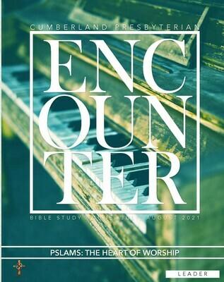 Encounter PRINT Leader Guide Summer 2021 (current quarter)