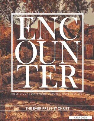 Encounter PRINT Leader Guide Fall 2021 (Current Quarter)