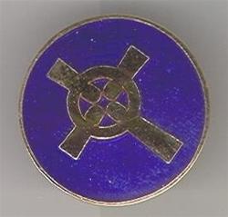 C P Logo Cloisonne Lapel Pin
