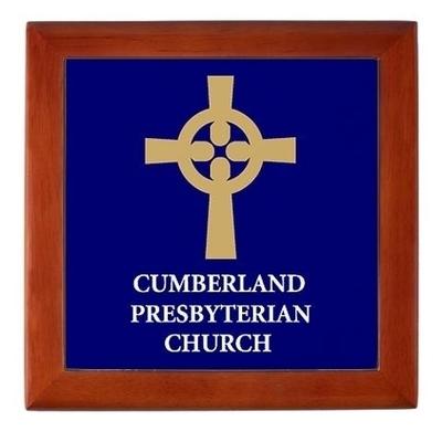 Cumberland Presbyterian Logo Keepsake Box