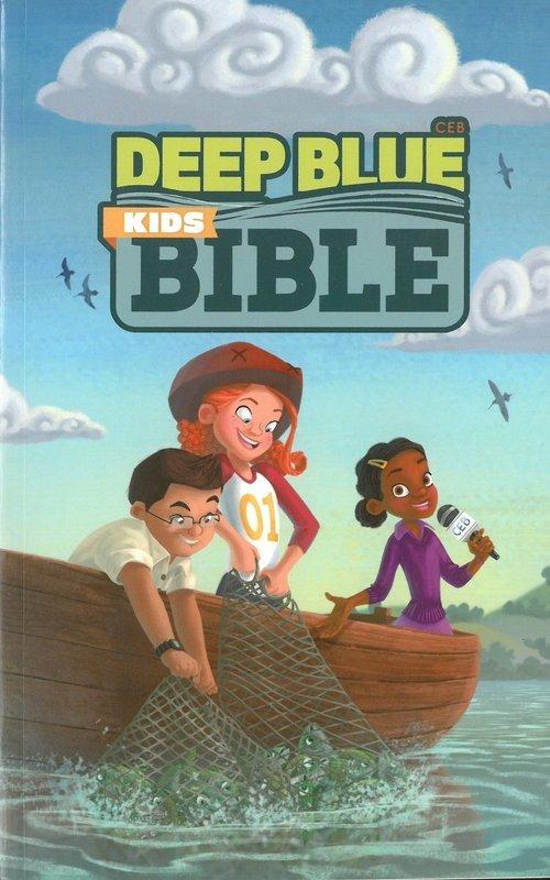 Common English Bible Deep Blue Kids Bible
