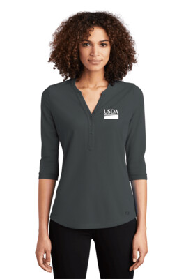 OGIO  Ladies Jewel Henley  Custom Embroidery Available
