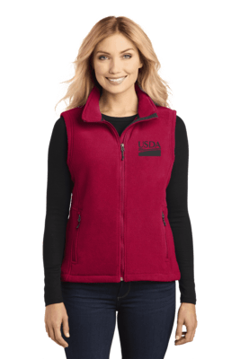 Ladies Midweight Fleece Vest