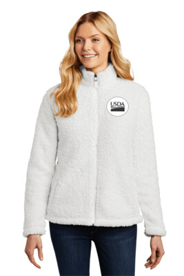 Port Authority Ladies Cozy Sherpa Fleece Jacket