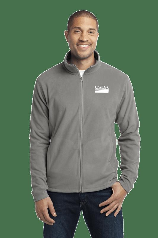 Unisex Microfleece Full Zip  Jacket
