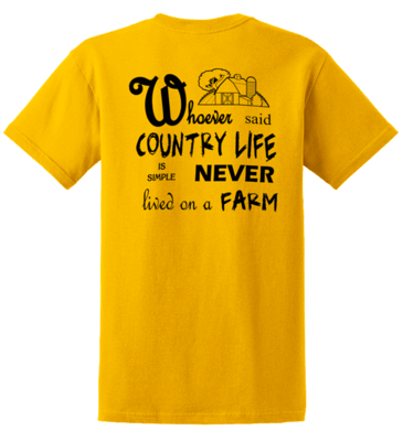 Whoever said Country Life........   REGULAR PRICE  $17.00