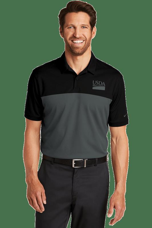 Nike Dri-FIT Colorblock Micro Pique Polo