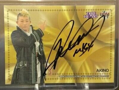 AKINO 2017 BBM Joshi True Heart Autograph /95
