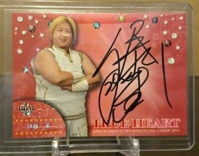 Kaoru Ito 2013 BBM Joshi True Heart Autograph /100