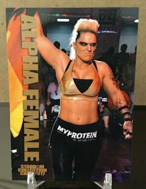 Alpha Female 2017 Stardom Base Card