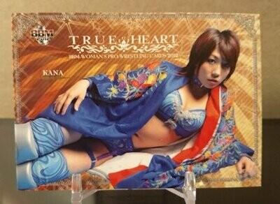 Kana 2012 BBM Joshi True Heart Base Card
