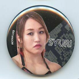 Syuri Stardom Can Badge (Button)