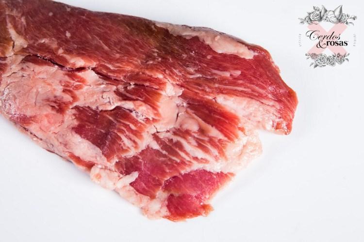Cerdos y Rosas: Pluma de Ibérico de Bellota. Peso aproximado 0.8kg