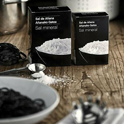 Sal Mineral de Manantial de Añana, caja 500g - Gourmet by Beites