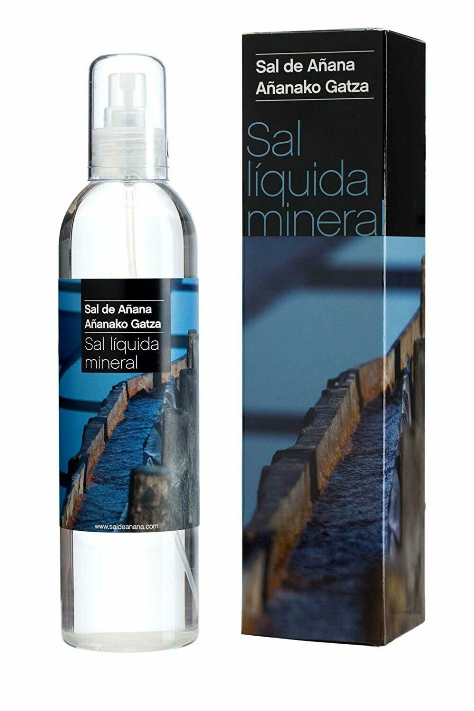 Sal líquida de manantial de Añana, 300ml - Gourmet by Beites