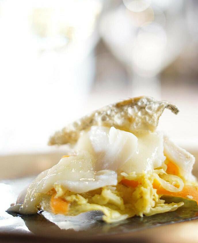 Bacalao confitado - Restaurante Don Fadrique
