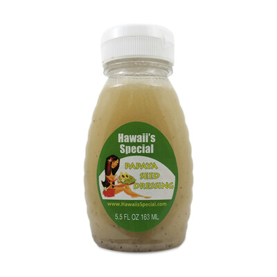 Original Papaya Seed Dressing, 5.5 oz