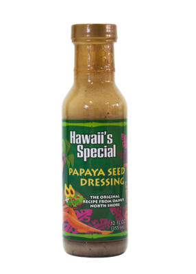 Original Papaya Seed Dressing, 12 oz