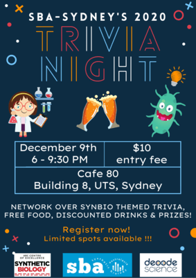 Trivia Night - SBA Sydney