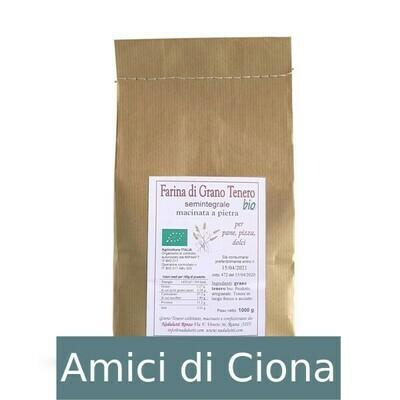 Farina di Grano Tenero Semintegrale (1kg)