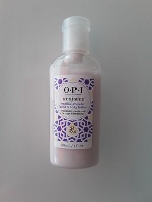 Crème mains Avojuice vanilla lavender 30ml