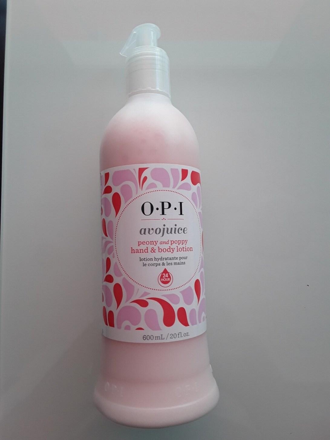 Crème mains et corps Avojuice peony and poppy 600ml