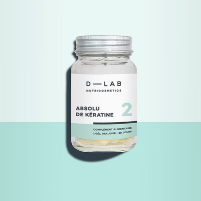 Absolu de Kératine Anti-chute & Réparation 28 gélules