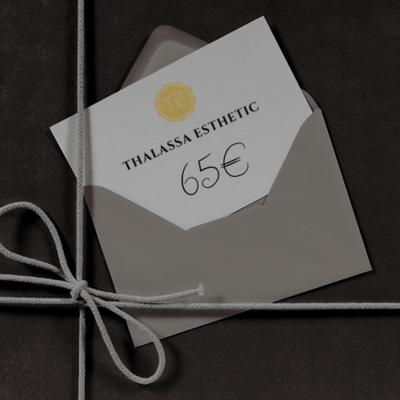BON D'UNE VALEUR DE 65€